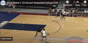 Bruce Weber 24 Second Defensive Drill