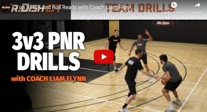 3'e 3 Pick and Roll Antrenmanı