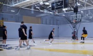 UW-Milwaukee Team Basketball Shooting Drills: Shot Frenzy