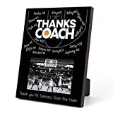basketball coach gift frame