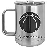 basketball coach personalized coffee mug