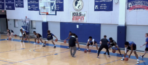 Two-Minute Dribble Drill