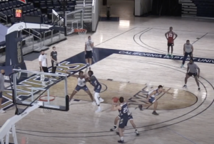 3 on 3 Position & Take the Charge Drill